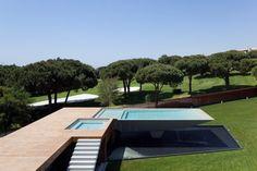 #Casa Vale Do Lobo,#portugal by Arqui+ | doble #pool #architecture