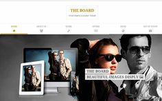 The Board is a one page template for only $14 #onepage