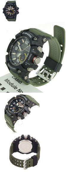 Other Watches 166739: Casio G-Shock Gg-1000-1A3 Dr Mudmaster Twin Sensor Ana-Digital Men S Watch Green -> BUY IT NOW ONLY: $195.95 on eBay!