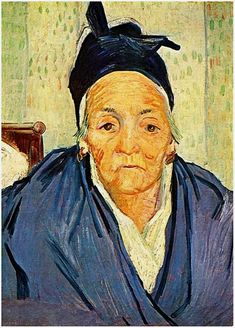 An Old Woman of Arles, 1888 Vincent van Gogh