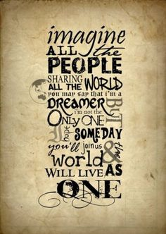 Método DeRose Matosinhos: And the world will live as one...