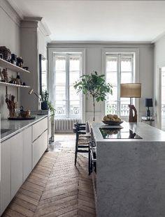 Maison Hand Réalisation - appartement rue Bizollon - photos Felix Forest