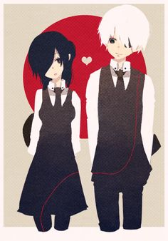 Kaneki and Touka // TG