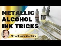 Cool Alcohol Ink Techniques! - YouTube