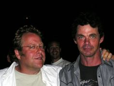 Mike Wilmot and Rich Hall @ Ealing Comedy Festival by shrinkwrapped, via Flickr