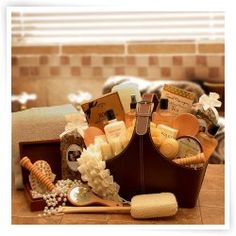 Spa Perfect Relax & Rejuvenate Tote Gift Set