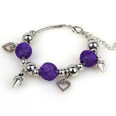 Korean Fashion Punk Hand- woven Alloy Acrylic Vaidurya Bracelets - US$1.44 -  - beaded bracelet beads shop at Costwe.com Diy Leather Bracelet, Diy Bracelet, Handmade Bracelets, Beaded Bracelets, Bead Shop, Cheap Fashion, Fashion Bracelets, Hand Weaving, Leather Bracelets