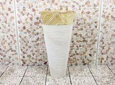 Wasbak marmer 022-YW, marmeren wastafel altijd weer uniek. Gezien bij badkamerexclusief.nl