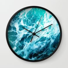 Out there in the Ocean Wall Clock by dominiquevari – Resin, pottery & paintings – Epoxyone Epoxy Resin Art, Diy Resin Art, Diy Resin Crafts, Wood Resin, Cute Wall Decor, Unique Wall Decor, Diy Clock, Clock Ideas, Resin Furniture