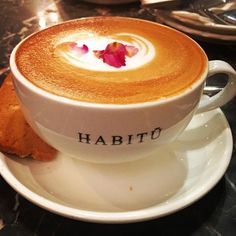 Caffè Rosa. Coffee with a hint of rose aroma. Rose syrup.... Floral drink... #coffee #coffeetime #coffeelover #coffeeart #coffeelove #caffehabituhk
