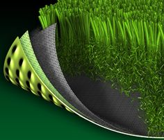 Synthetic lawn - no watering or mowing required.  Yet not maintenance free!  It's surprising how many leaves and misc. litter blows in the yard from surrounding neighbors.  Light raking and leaf-blowing a must at least once a month.