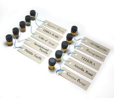 Deluxe Perfume Oil Sample Set 2 by Scent by the by scentbythesea