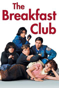 The Breakfast Club Movie Poster - Molly Ringwald, Emilio Estevez, Anthony Michael Hall  #TheBreakfastClub, #MoviePoster, #Drama, #JohnHughes, #AnthonyMichaelHall, #EmilioEstevez, #MollyRingwald