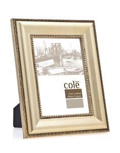 Bead Wood Picture Frame