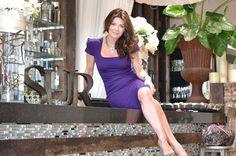 Lisa Vanderpump's signature dress. I prefer it in red.