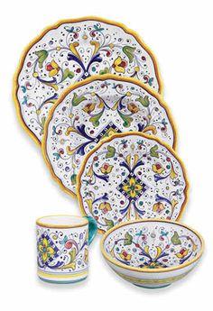 Italian Ceramics & Pottery Deruta Italy Majolica
