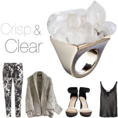 Crisp & clear, created by janet9 on Polyvore