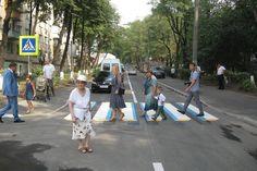В Киеве появилась 3D-разметка