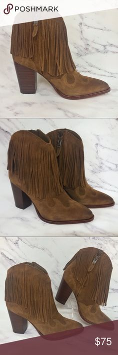 042c17cc3 Sam Edelman Fringe Western Boots These boots offer lots of style with a  Western flare.