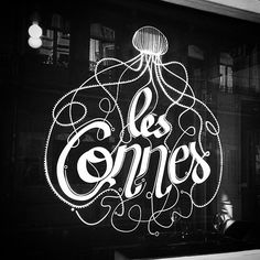 #lesconnes #tonpiquant #illustration #jellyfish #logo #lettering #typography #graphisme #graphicdesign #identity #bxl