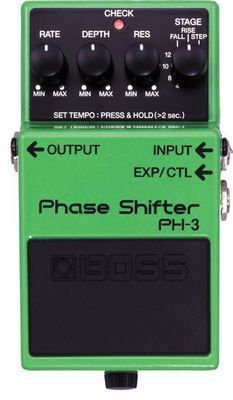 Boss PH-3 Phase Shifter Pedal | Guitar Effects Stomp Box