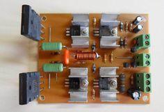 Amplificador de O que mudou? Electronics Projects, Diy Electronics, Arduino, Radios, Circuit Board Design, Electrical Circuit Diagram, Diy Amplifier, Electronic Kits, Wireless Speakers