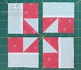 Resultado de imagem para windmill quilt block pattern