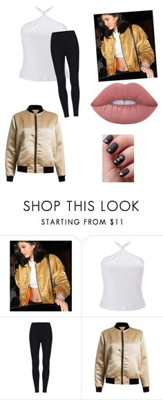 """""""Kylie Jenner: Out Late"""" by rawesome101 ❤ liked on Polyvore featuring Miss Selfridge, Sans Souci and Lime Crime"""