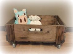DIY toybox on wheels