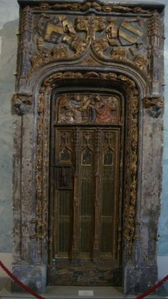 A very old fretwork door at the Hermitage Musuem in St. Petersburg - Russia. by almajflores