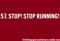 Stop! Stop Running! GHOST ADVENTURES!