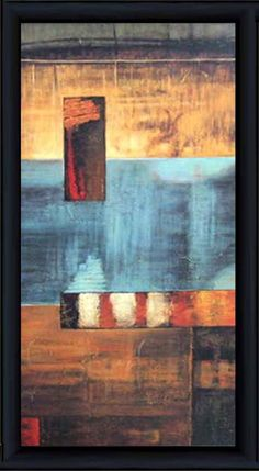 A World View II   Abstract   Framed Art   Wall Decor   Art   Pictures   Home Decor