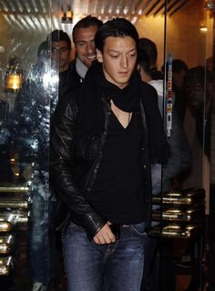 Mesut Ozil dinner in Madrid, November 2011