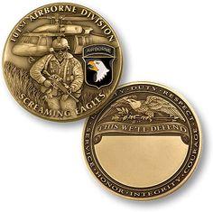 U s Army 101st Airborne Division Challenge Coin | eBay