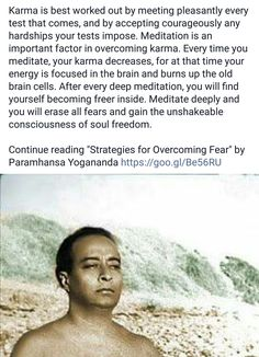 Karma is best worked out by patiently applying wisdom of scriptures, word of God & advice, instructions of holy men (saints/ men of God), facing courageously all tests & difficult situations with even-mindedness, with utmost control over our emotions, mind & senses--connecting with and seeing the Divine Presence in every heart.