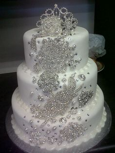 Bling cake......WOW LOVE IT!