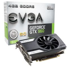 Türkiye'nin Amazoncusu: EVGA GeForce GTX 960 Super Clocked ACX 2.0 4GB GDD...