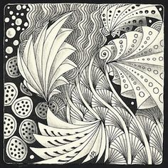 Enthusiastic Artist: Phicops by Margaret Bremner, Certified Zentangle Teacher