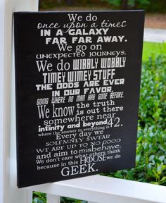 EXTRA LARGE 24x36 In this house we do GEEK by ApareciumDesign