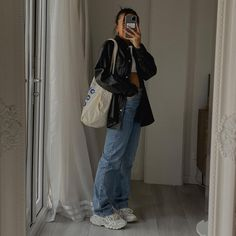 Retro Outfits, Cute Casual Outfits, Fall Outfits, Summer Outfits, Aesthetic Fashion, Look Fashion, Aesthetic Clothes, Fashion Outfits, Mode Simple