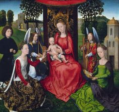 Virgin and Child with Saints Catherine of Alexandria and Barbara. 1480s