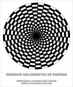 Gerador holográfico de Energia Cone - Gráfico em PS