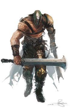 Beserker, warrior, duel welding, swords, gladiator, fighter.