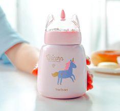 Best Baby Bottles, Cute Water Bottles, Vacuum Cup, Water Bottle Design, Cute Cups, Braids For Kids, Kawaii Cute, Cute Babies, Baby Gifts