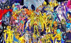 Todos Los Personajes De Los Caballeros Del Zodiaco (Saint Seiya) : Personajes de Los Caballeros Del Zodiaco (Caballeros Dorados y Todas las Sagas), Lost Canvas, Saint Seiya Omega y tambien hay personajes de todas las peliculas | capitanseiyero