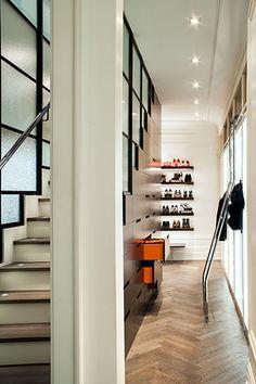 closet design | under stair storage | Powell & Bonnell