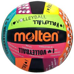 Molten Black   Neon I Love Volleyball Camp Volleyball b9e8f28a6a870