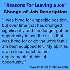 Valid reasons for leaving a job. How to explain why you want to leave your job. Best interview answers to the reason for leaving interview question. Interview Answers, Interview Skills, Job Interview Tips, Job Interview Questions, Job Interviews, Interview Techniques, Job Resume, Resume Tips, Resume Ideas