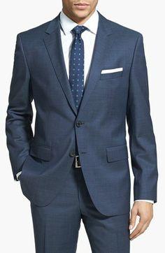 HUGO 'James/Sharp' Trim Fit Wool Suit | Nordstrom