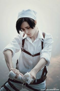 Levi Cosplay Made by A Handsome Russian Boy ⋆ RoleCostume >>>>SCREEEEEEE